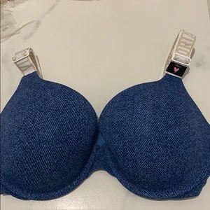 NWOT Victoria's Secret Bra T-Shirt Push Up Bra